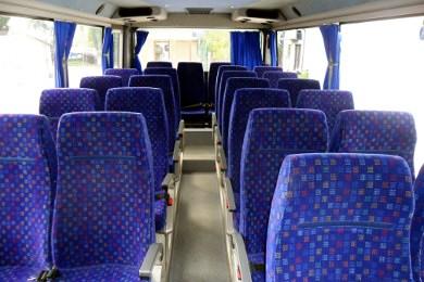 616 siedzenia przodem